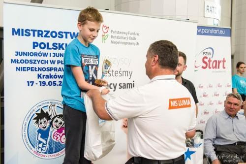 Mistrzostwa Polski Juniorów  w Pływaniu Niepełnosprawnych 1