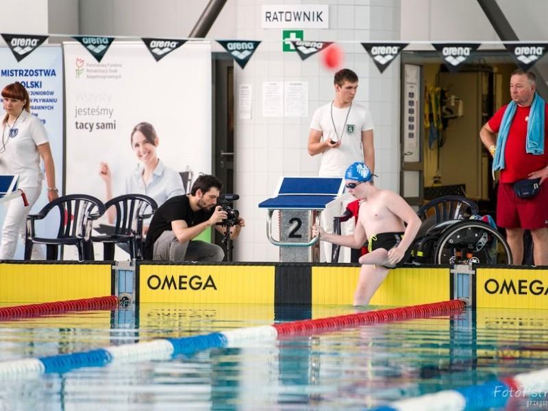 Mistrzostwa Polski Juniorów  w Pływaniu Niepełnosprawnych 4